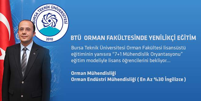 BTÜ Orman Fakültesi'nde yenilikçi eğitim