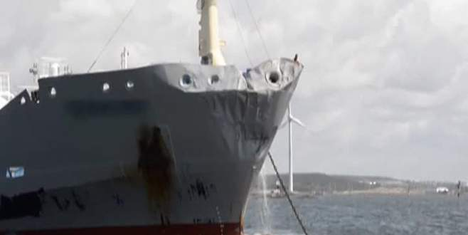 Yolcu gemisiyle tanker çarpıştı