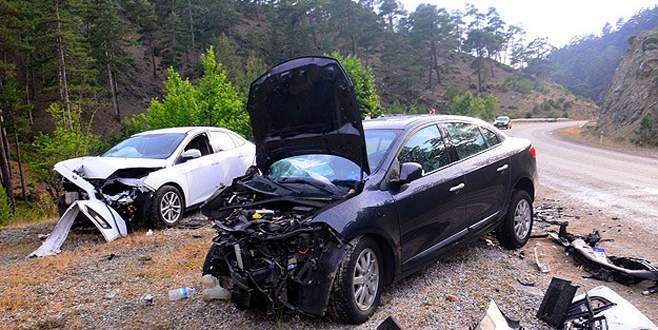 Bayramda kazaların bilançosu ağır oldu: 73 ölü, 414 yaralı!