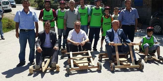 Bursa'da 'Laz rallisi'ne büyük ilgi
