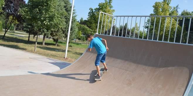 Orhangazi Skate Park gençlerin hizmetinde