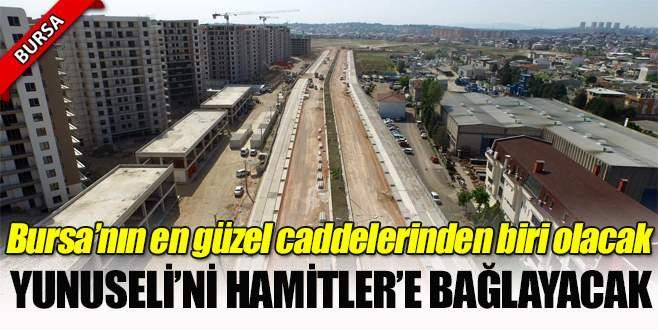 Bursa'nın en güzel caddelerinden biri olacak!