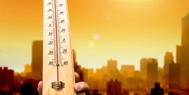 Kavuran sıcaklar geliyor