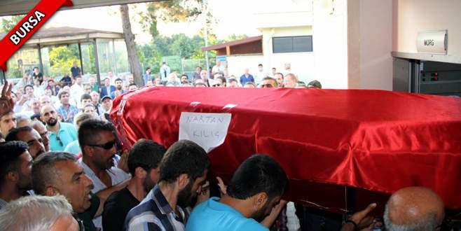 Ölen anne ve oğlunun cenazesi Bursa'ya getirildi