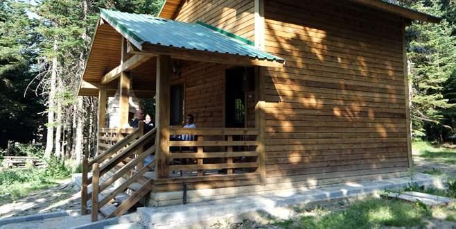 Uludağ'ın köşklerinde tatil keyfi