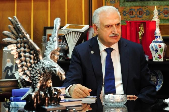 Rektör Prof. Dr. Koçak'tan Erzurum Kongresi Kutlama Mesajı