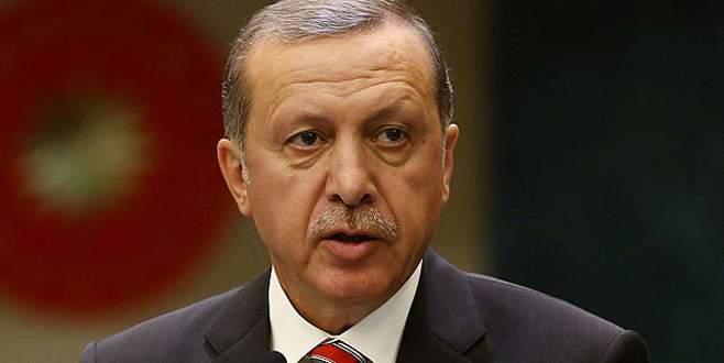 Erdoğan'dan şehit ailelere başsağlığı telgrafı