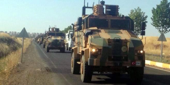 Diyarbakır'dan büyük askeri sevkiyat