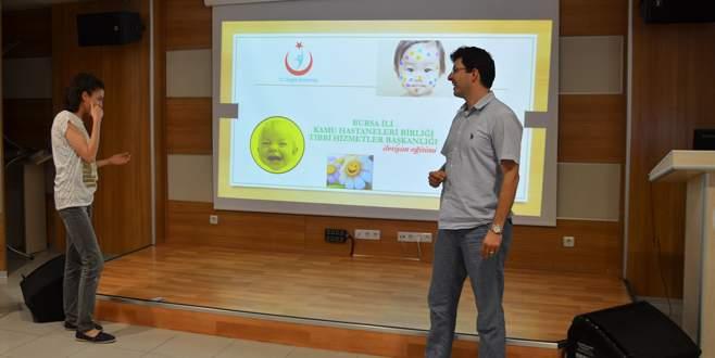 Sağlık çalışanlarına iletişim eğitimi