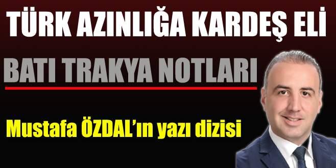 Türk azınlığa kardeş eli