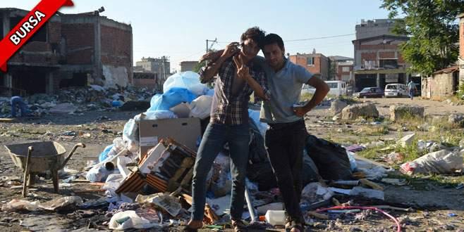 Şehrin göbeğinde bir 'küçük Suriye'