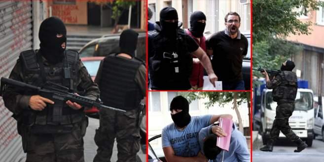 '16 ilde 297 kişi gözaltına alındı'