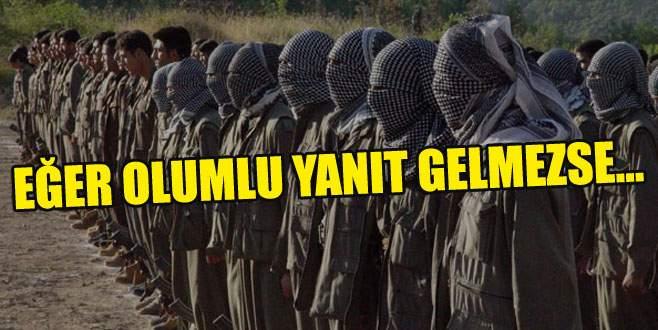 PKK'ya son çağrı