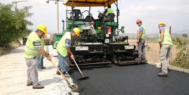 Nilüfer'de asfalt sezonu başladı