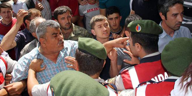 Bursa'da altın madeni gerginliği