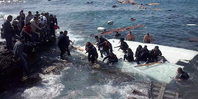 Akdeniz'de yine facia