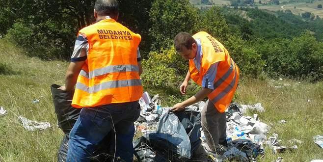 Zeytin Dalı ekibinden temizlik harekatı
