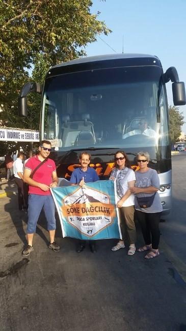 Sökeli Dağcılar Erciyes'e Tırmanacak