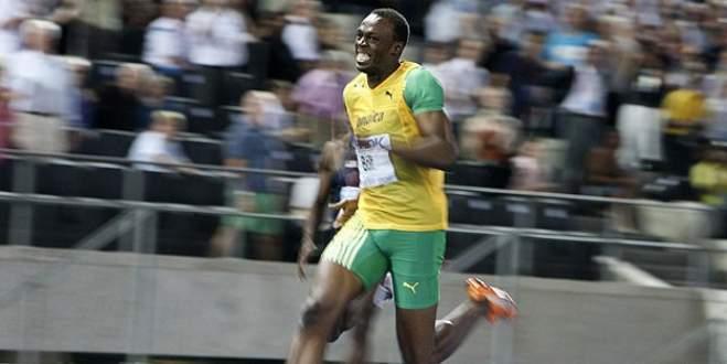 Usain Bolt'tan sezonun en iyi derecesi