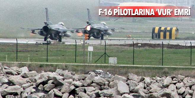 Diyarbakır'a savaş uçağı takviyesi