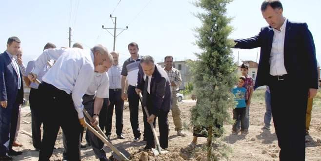 İnegöl'de yeşile belediye desteği