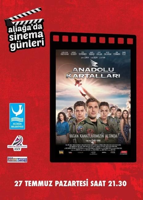 Anadolu Kartalları, Aliağa'da Gösterilecek