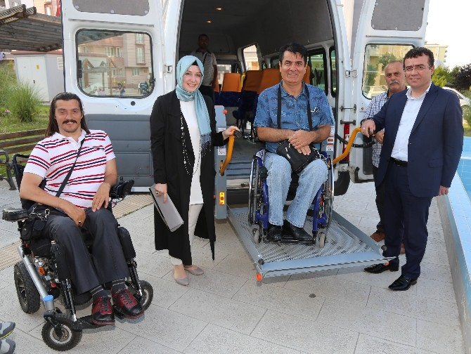 Atakum'da Engelsiz Araç