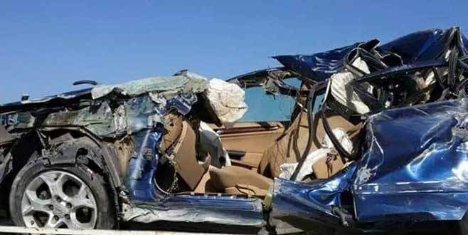 Cezaevi müdürü ve eşi kazada öldü
