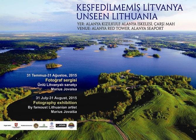 """Keşfedilmemiş Litvanya"""" Adlı Resim Sergisini Açılıyor"""
