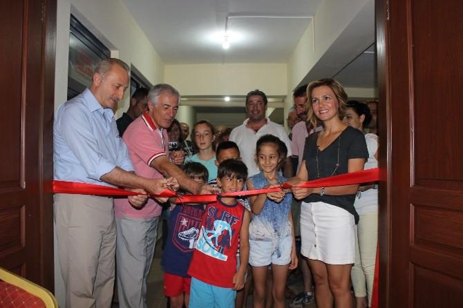 Akbük'te Kültür Sanat Atölyesi Açıldı