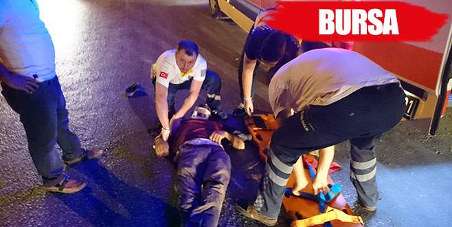 Trafik kazasında bir kişi ağır yaralandı