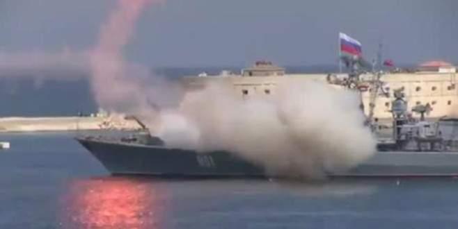 Rus donanmasının güç gösterisi yarıda kaldı
