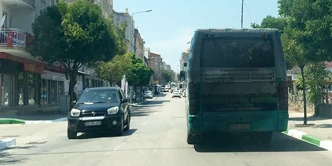 Özel halk otobüsleri '10 numara' ile kirletiyor