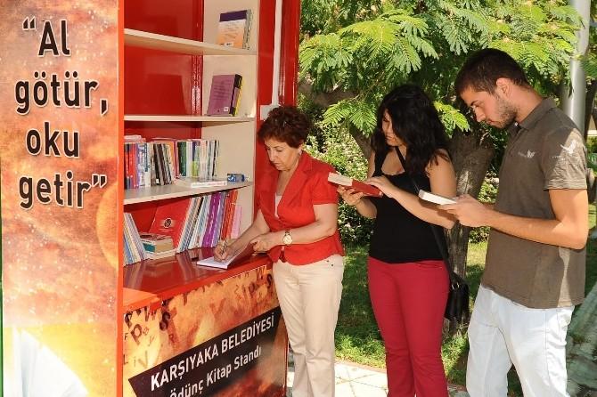 Karşıyaka Belediyesi'nden Kitap Dayanışması
