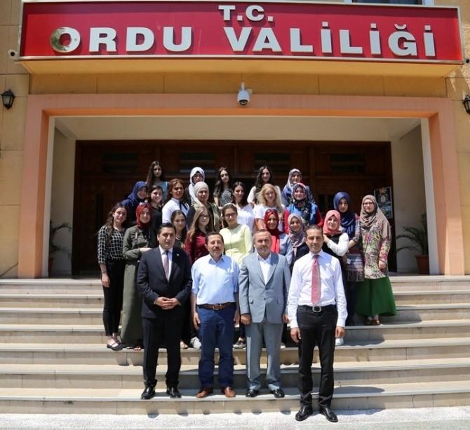 UETD'den Karadeniz Gezisi