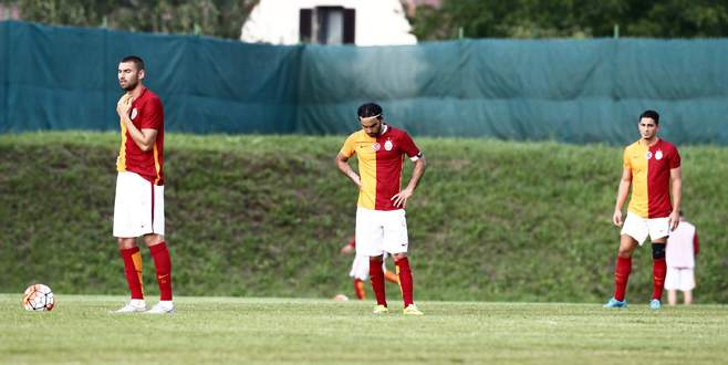 Galatasaray farklı mağlup oldu