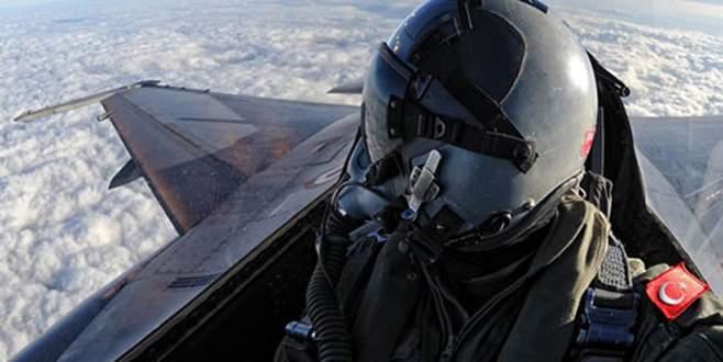 F16'lar yine havalandı
