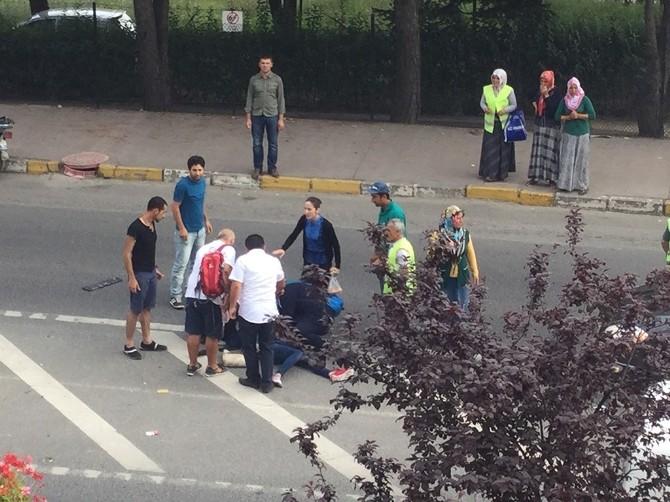Hastane Yolunda Kaza: 2 Yaralı