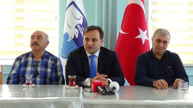 B. B. Erzurumspor Kulüp Başkanı Demirhan'ın Açıklaması
