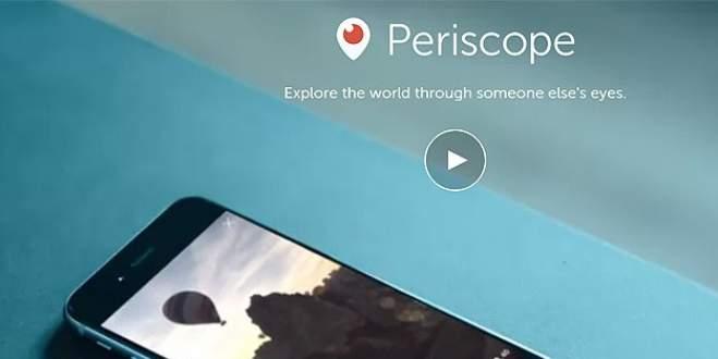 Periscope kullanıcılarına kötü haber