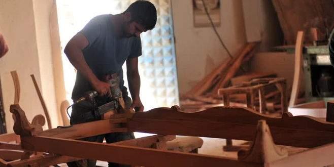 Suriyeli mobilyacılardan Türkiye ekonomisine katkı