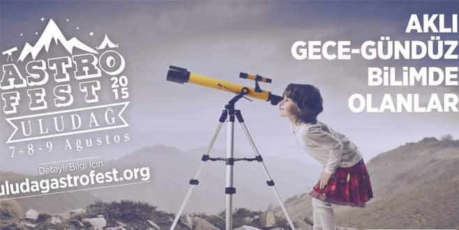 Uludağ'da gözlem festivali başlıyor