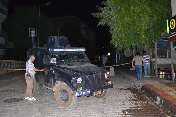 Tunceli'de Şüpheli Çanta Fünyeyle Patlatıldı