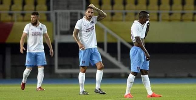 Trabzonspor tur umutlarını İstanbul'a bıraktı