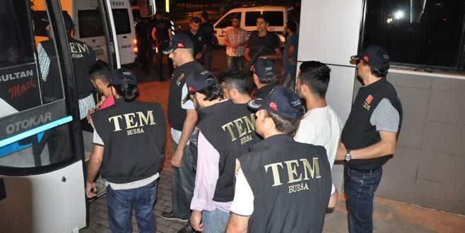 Bursa'daki terör operasyonunda flaş gelişme