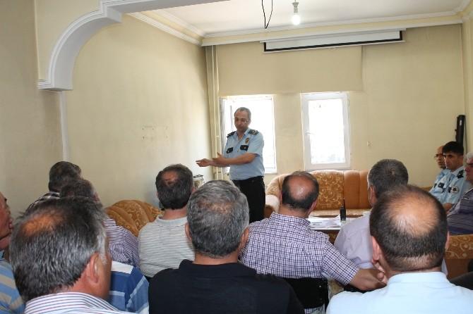 Tosya Emniyet Müdürlüğü Muhtarları Maganda Konusunda Uyardı