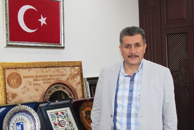 Konya SMMMO Başkanı Turan'dan Teröre Kınama