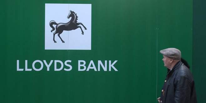 Lloyds'un ilk yarı karı yüzde 33 arttı