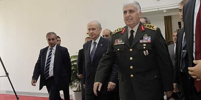 Genelkurmay Başkanı Özel'den Bahçeli'ye veda ziyareti