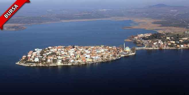 Gölyazı'daki adalar turizme açılmayı bekliyor